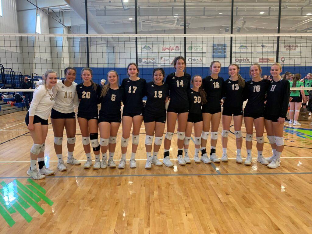 2021 May 8 U16 Grand Prix Gold runner-up Arizona Rise Volleyball Club